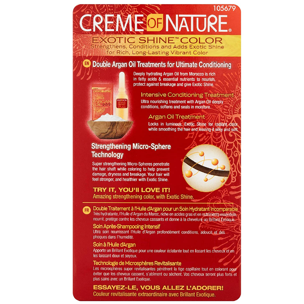 Creme Of Nature Exotic Shine Hair Color Red Copper 6.4