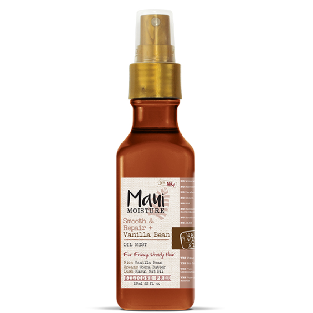 Maui Moisture Vanilla Bean Smooth and Repair Oil Mist