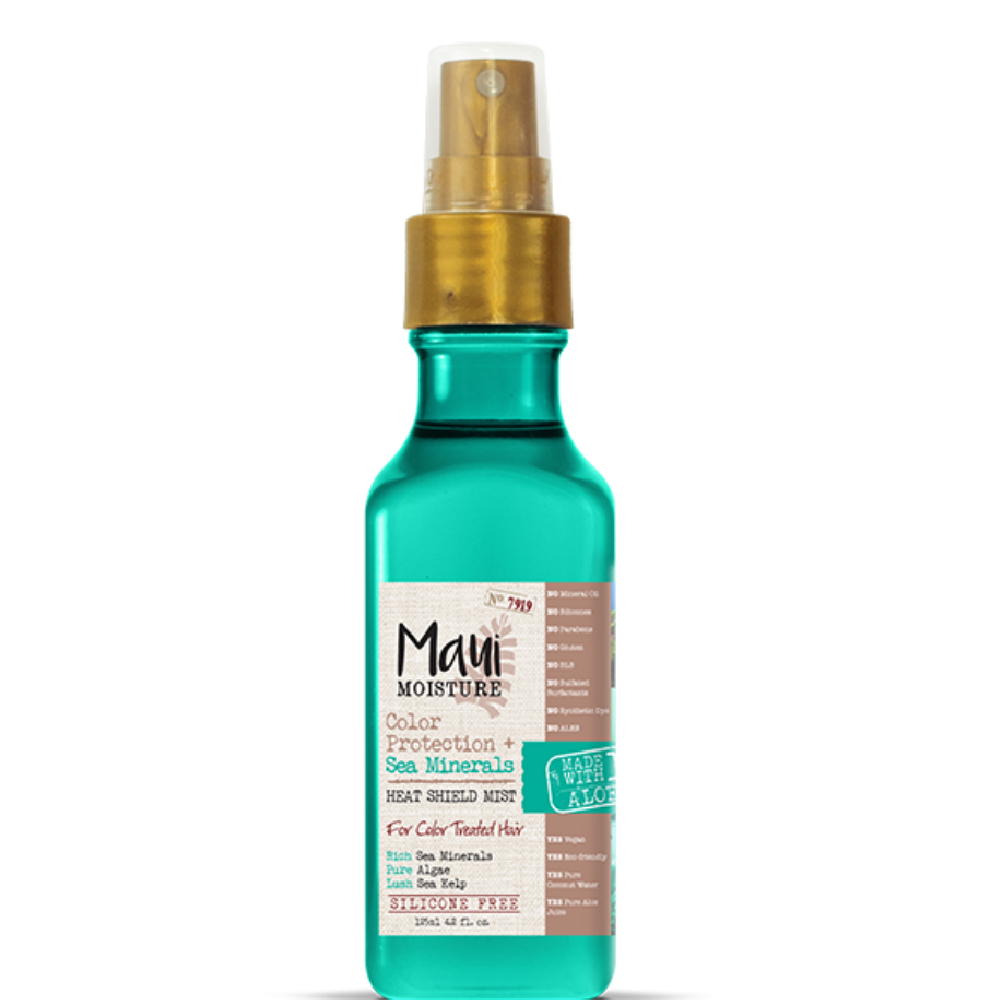 Maui Moisture Color Protection + Sea Minerals Heat Shield Mist