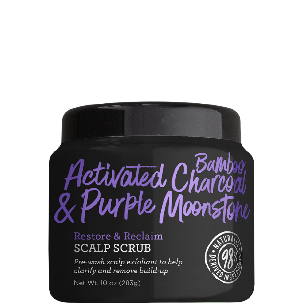 Not Your Mother's Activated Charcoal & Purple Moonstone Scalp Scrub