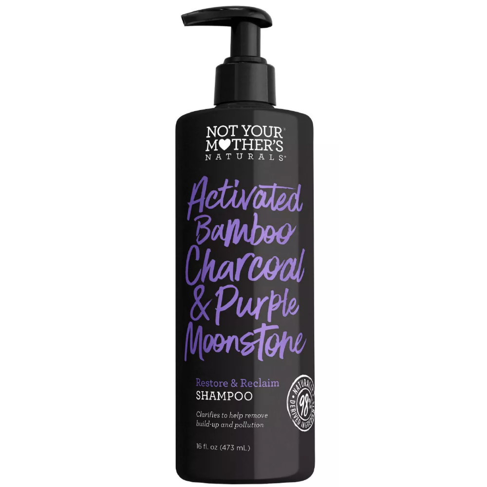 Not Your Mother's Activated Charcoal & Purple Moonstone Shampoo