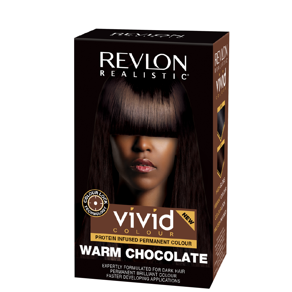 Revlon Realistic Vivid Hair Color Warm Chocolate