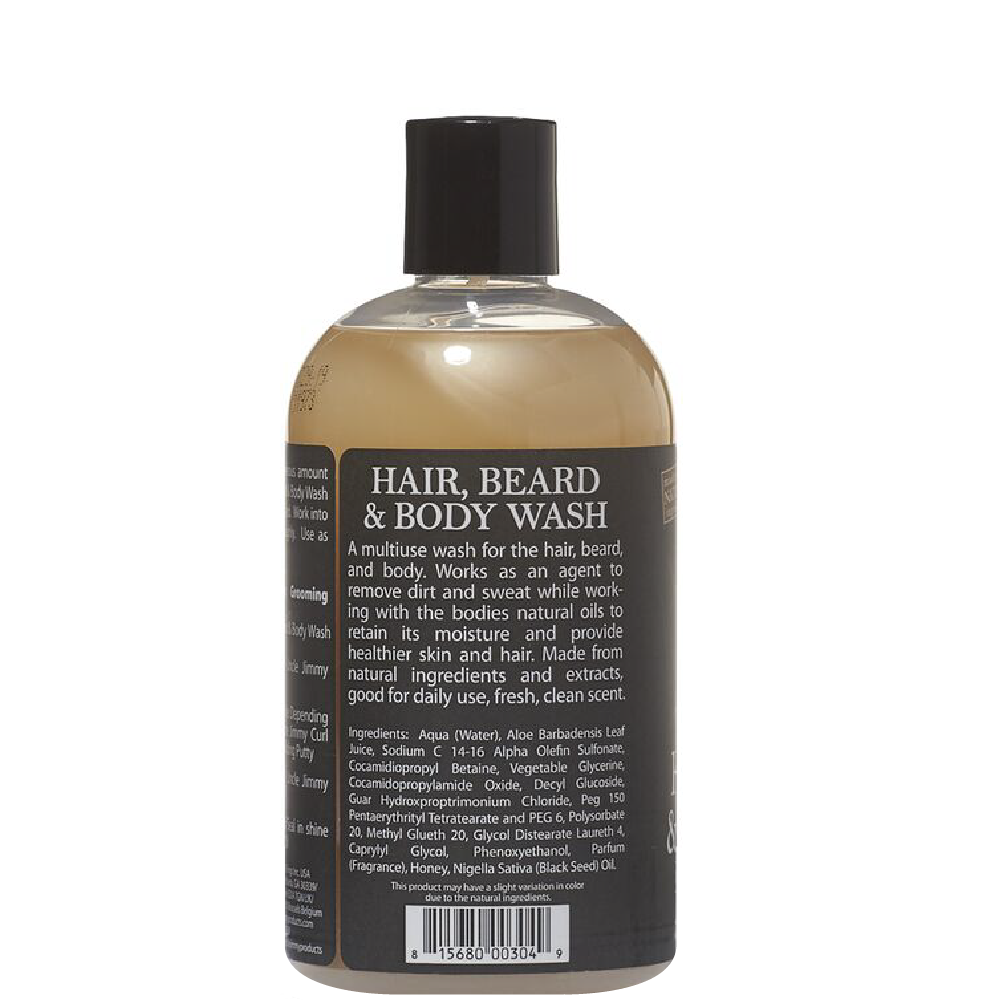 Uncle Jimmy's Hair Beard and Body Wash