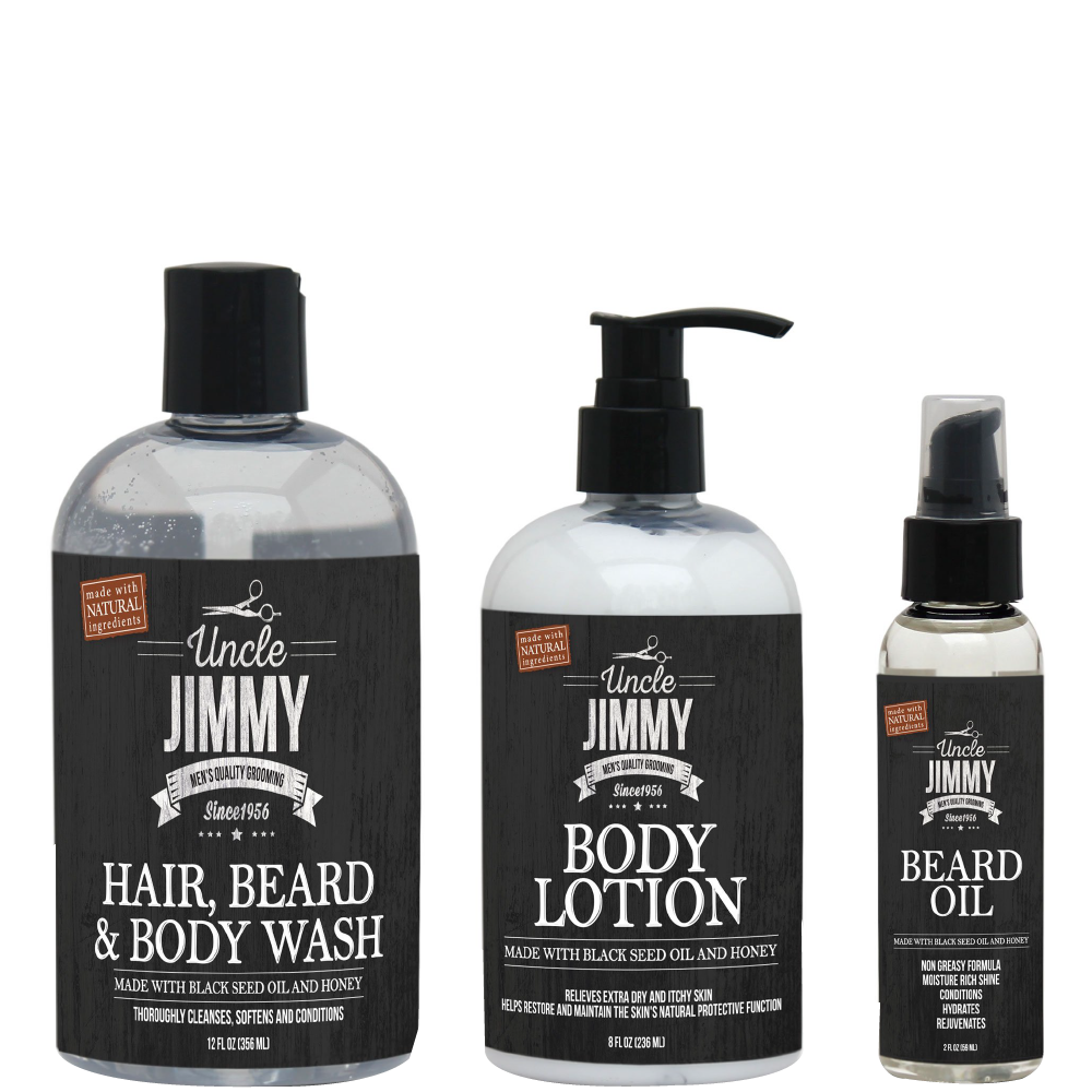 Uncle Jimmy's Body Care Combo