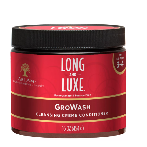 As I Am Long & Luxe Pomegranate Gro Wash