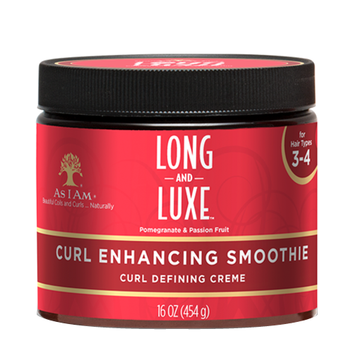 As I Am Long & Luxe Pomegranate Curl Enhancng Smoothie