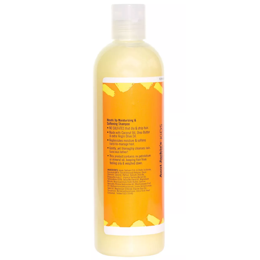 Aunt Jackie's Kids Heads Up Moisturizing & Softening Shampoo