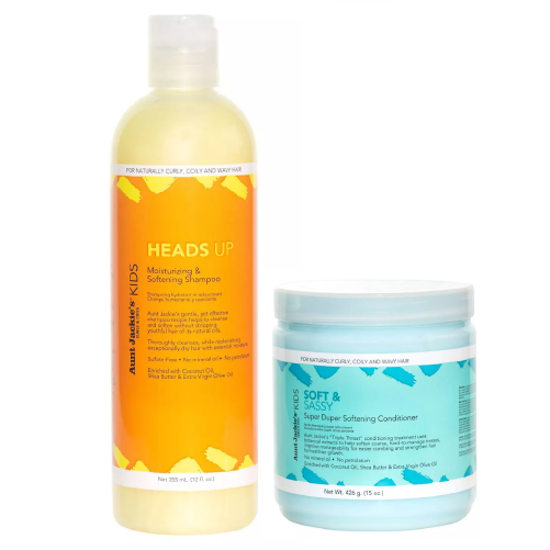 Aunt Jackie's Kids Shampoo and Conditioner Set