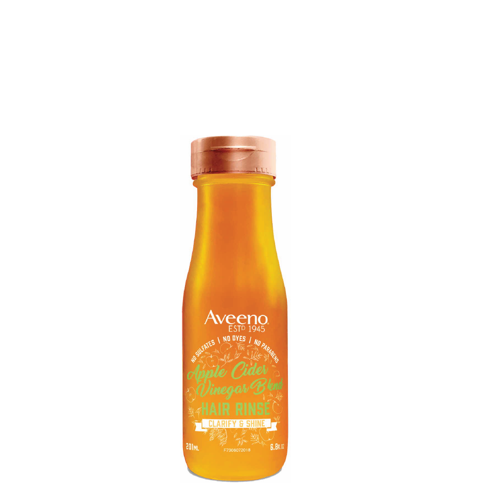 Aveeno Apple Cider Vinegar Blend Clarifying Rinse