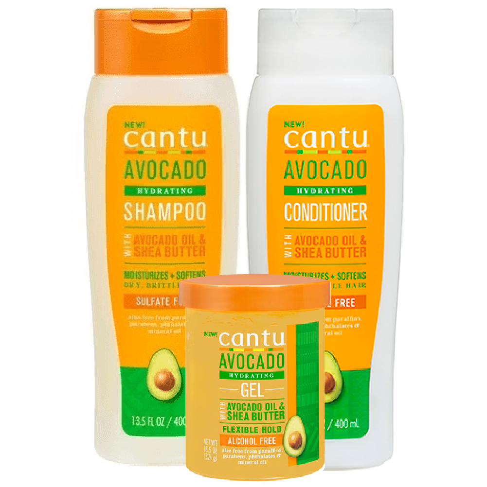 Cantu Avocado 3-Product Set