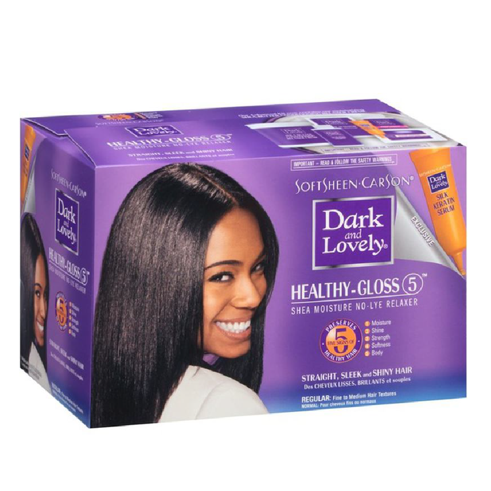 Dark & Lovely Healthy Gloss 5 No-Lye Relaxer Regular