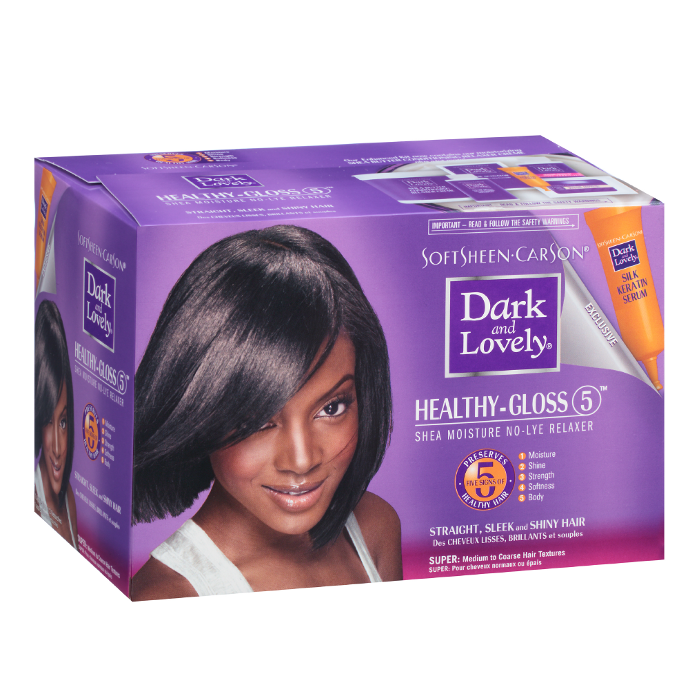 Dark & Lovely Healthy Gloss 5 No-Lye Relaxer Super