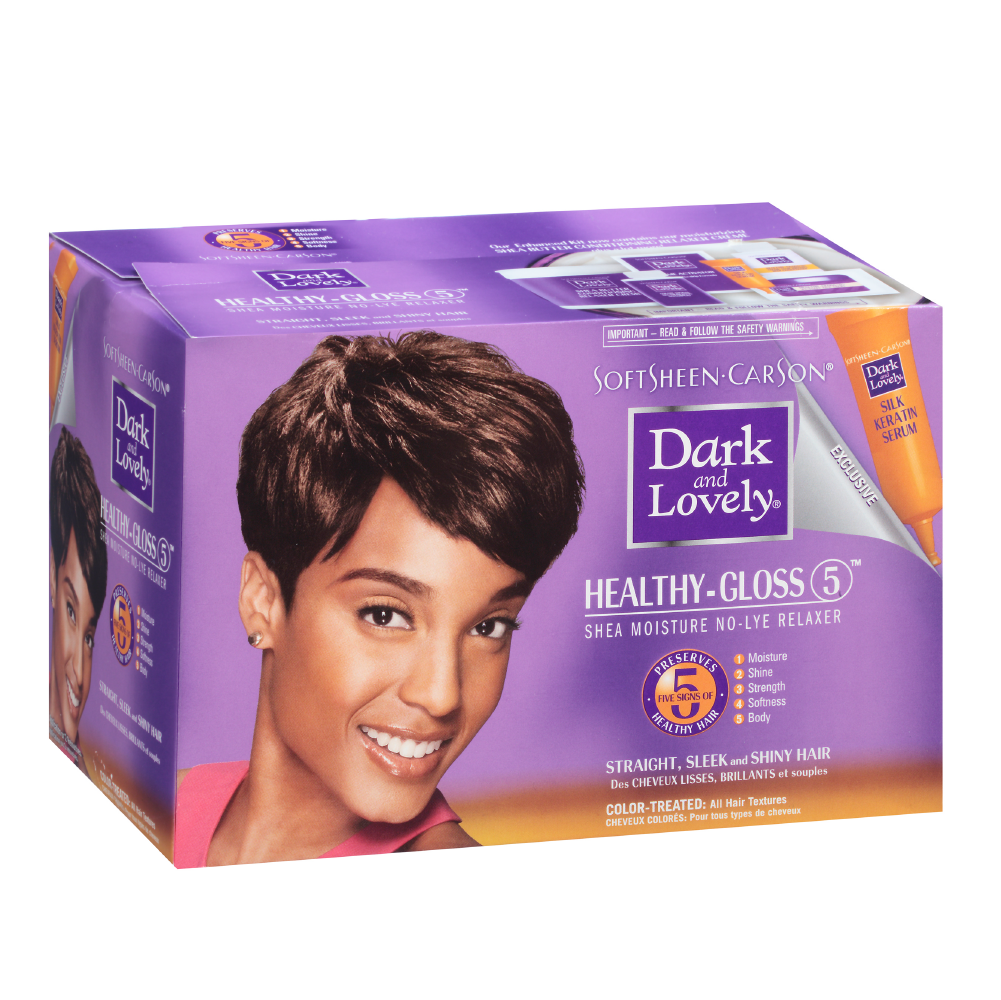 Dark & Lovely Healthy Gloss 5 No-Lye Relaxer Color Treated
