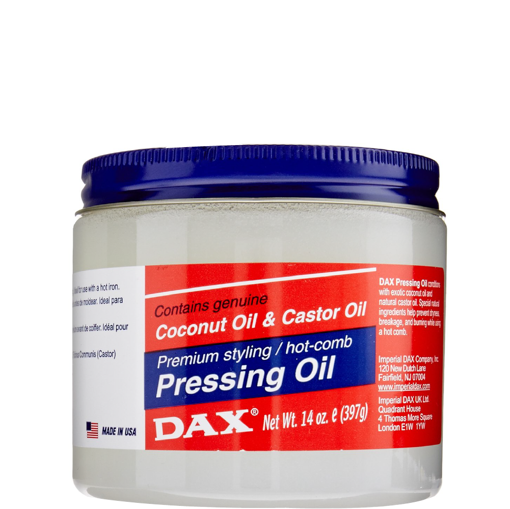 Dax Pressing Oil with Coconut Oil and Castor Oil