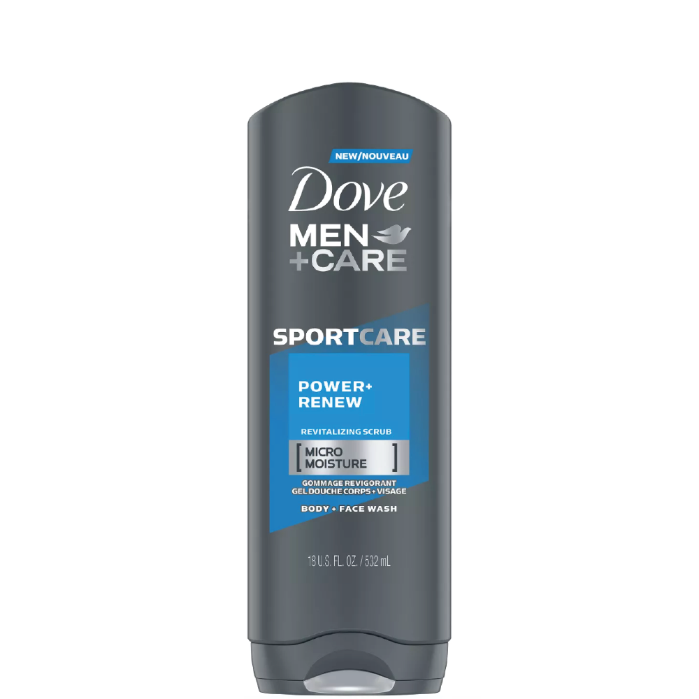 Dove Men + Care Body and Face Wash Power Renew