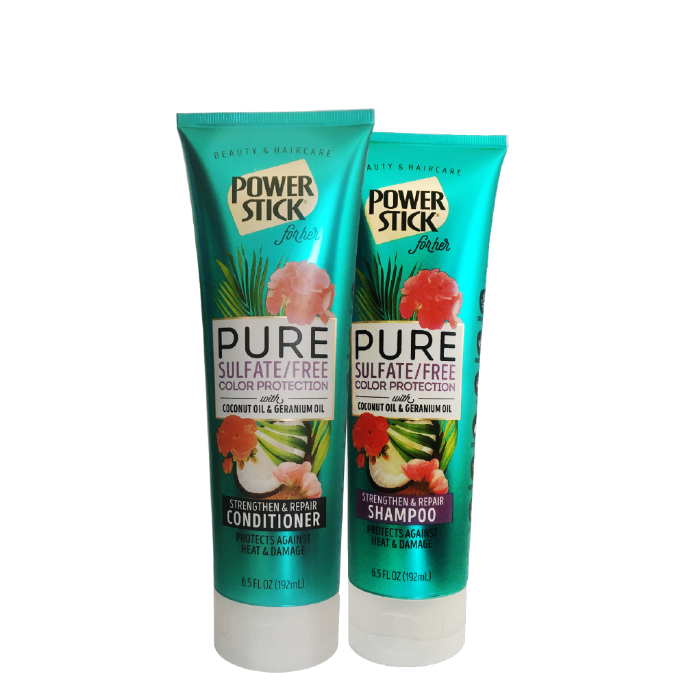 Power Stick  Sulfate Free Color Protection Shampoo and Conditioner