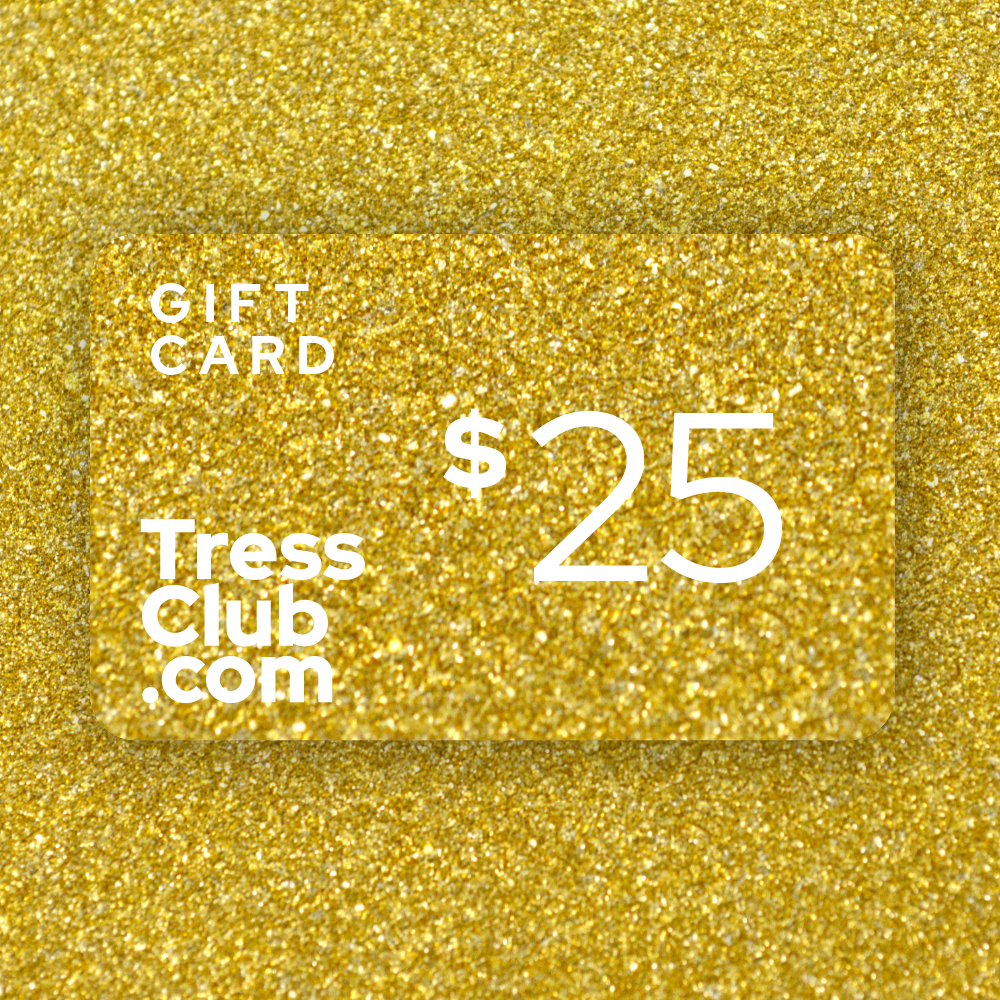$25 TressClub Holiday Gift Card