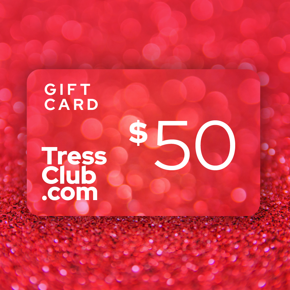$50 TressClub Holiday Gift Card