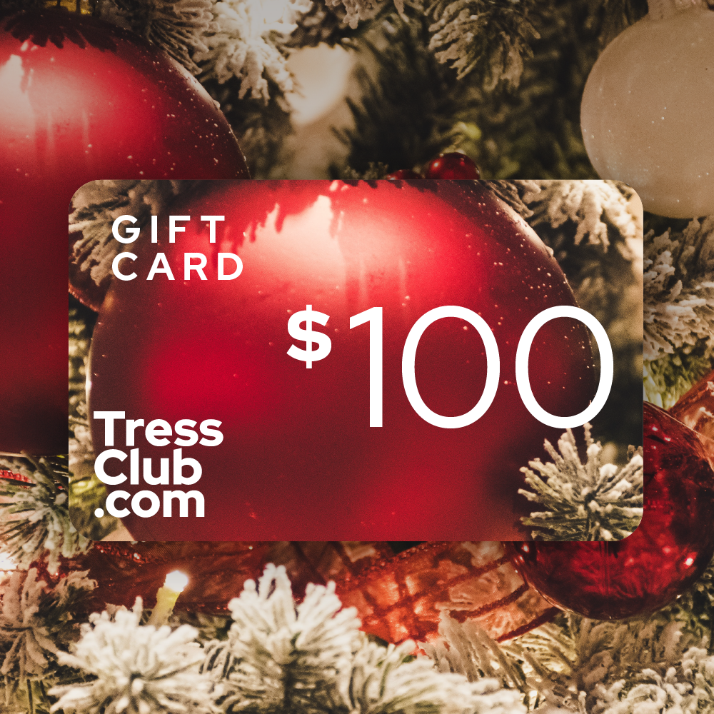 $100 TressClub Holiday Gift Card
