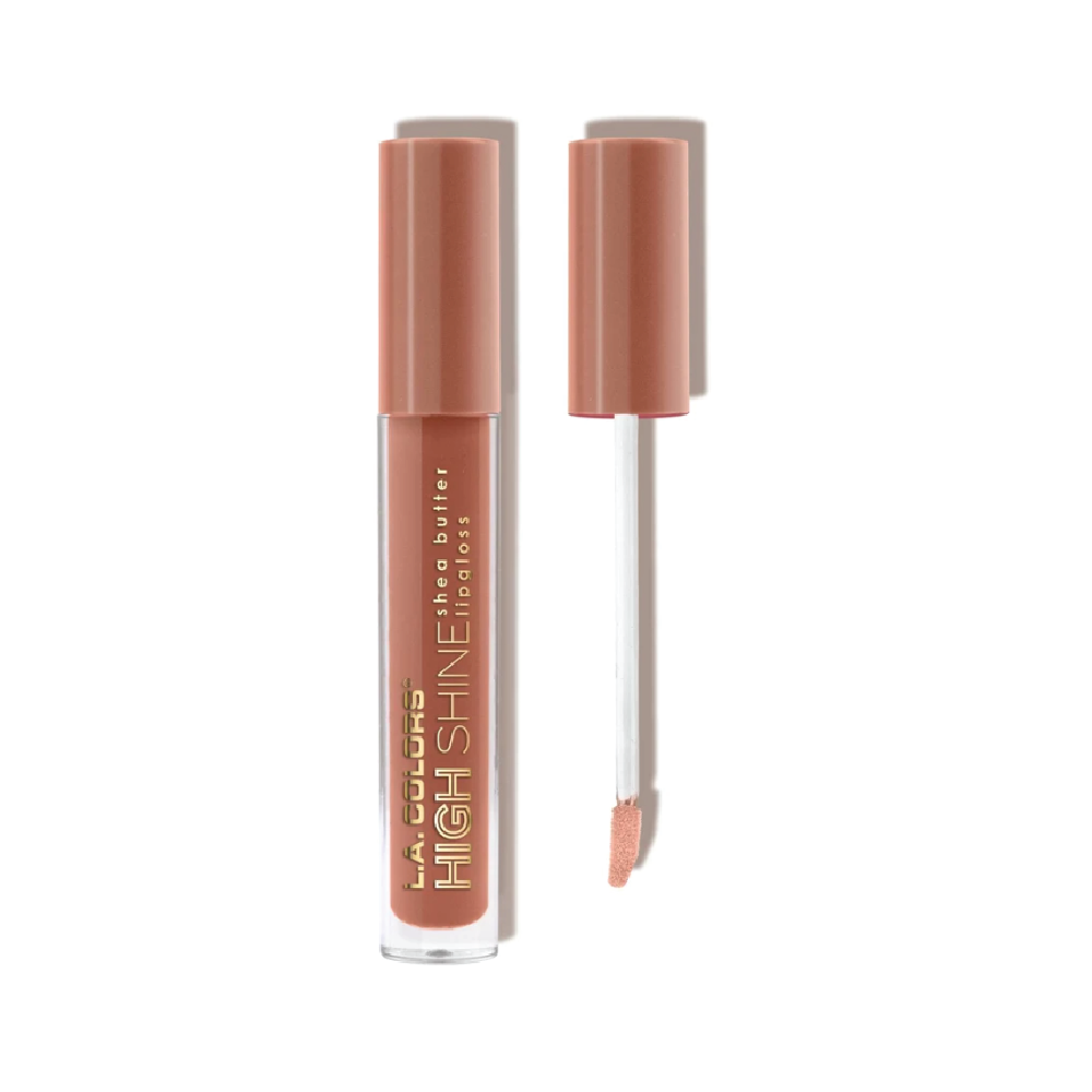 LA Colors High Shine Shea Butter Lip Gloss - Dollface