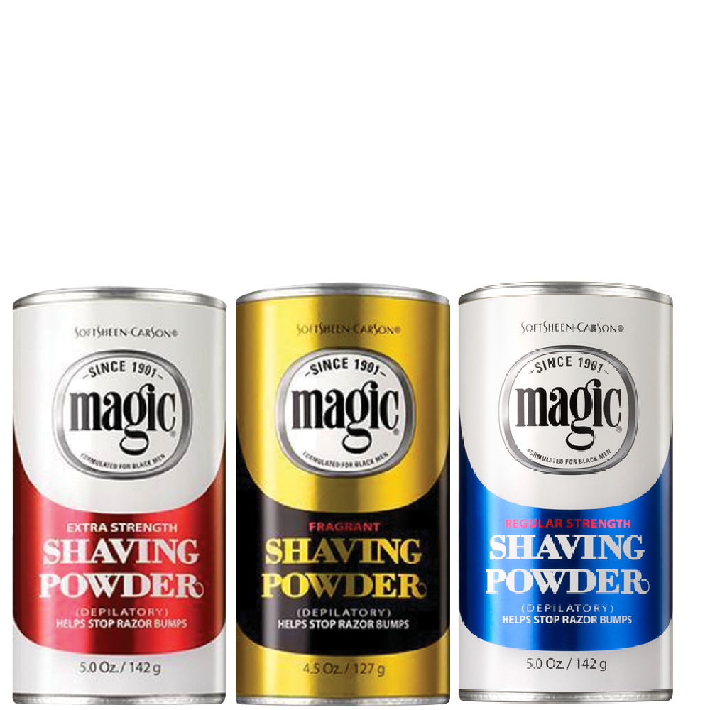 Magic Shave Shaving Powder 3-Product Collection