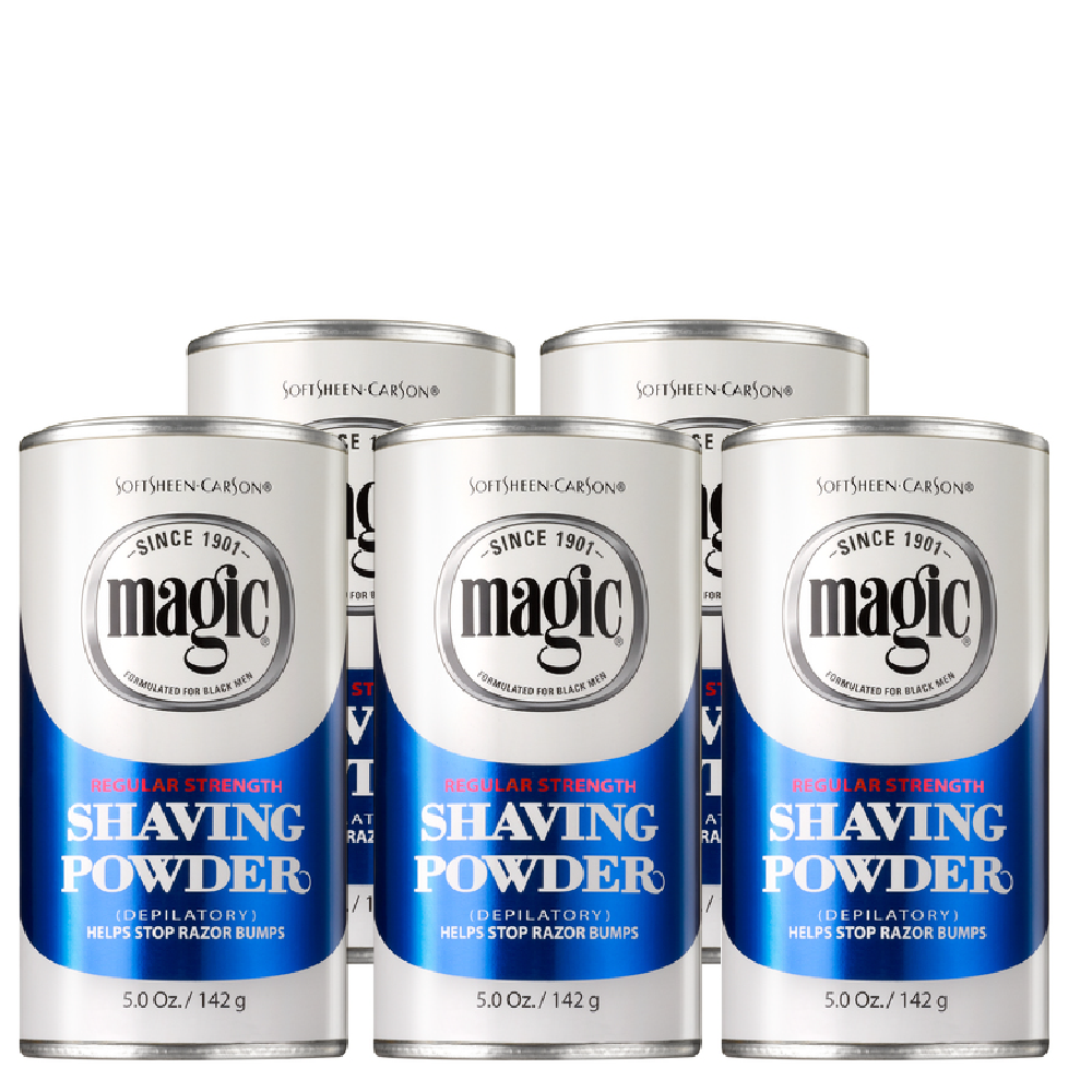 Magic Skin Conditioning Shaving Powder Regular Strength