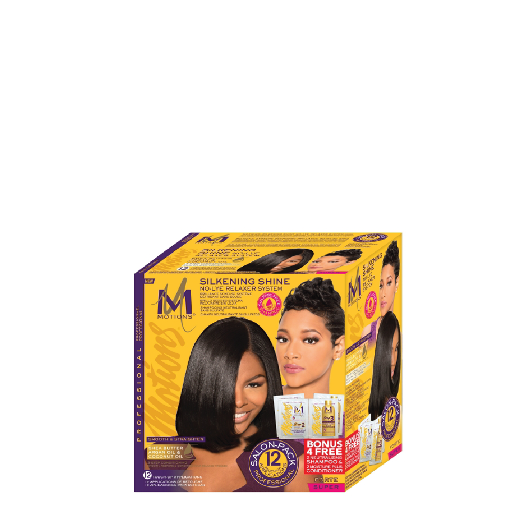 Motions Silkening Shine Relaxer Kit Super