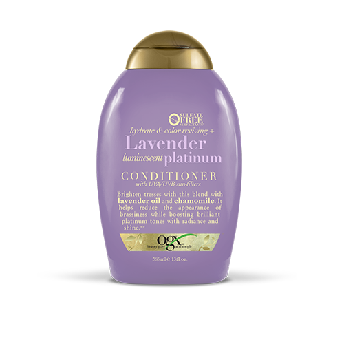 OGX Lavender Luminescent Platinum Conditioner