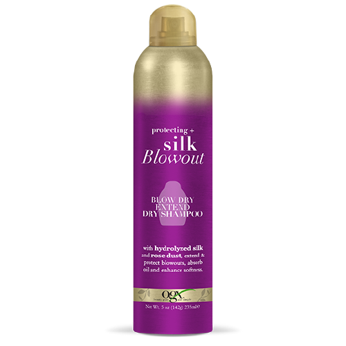 OGX Silk Blowout Blow Dry Extend Dry Shampoo