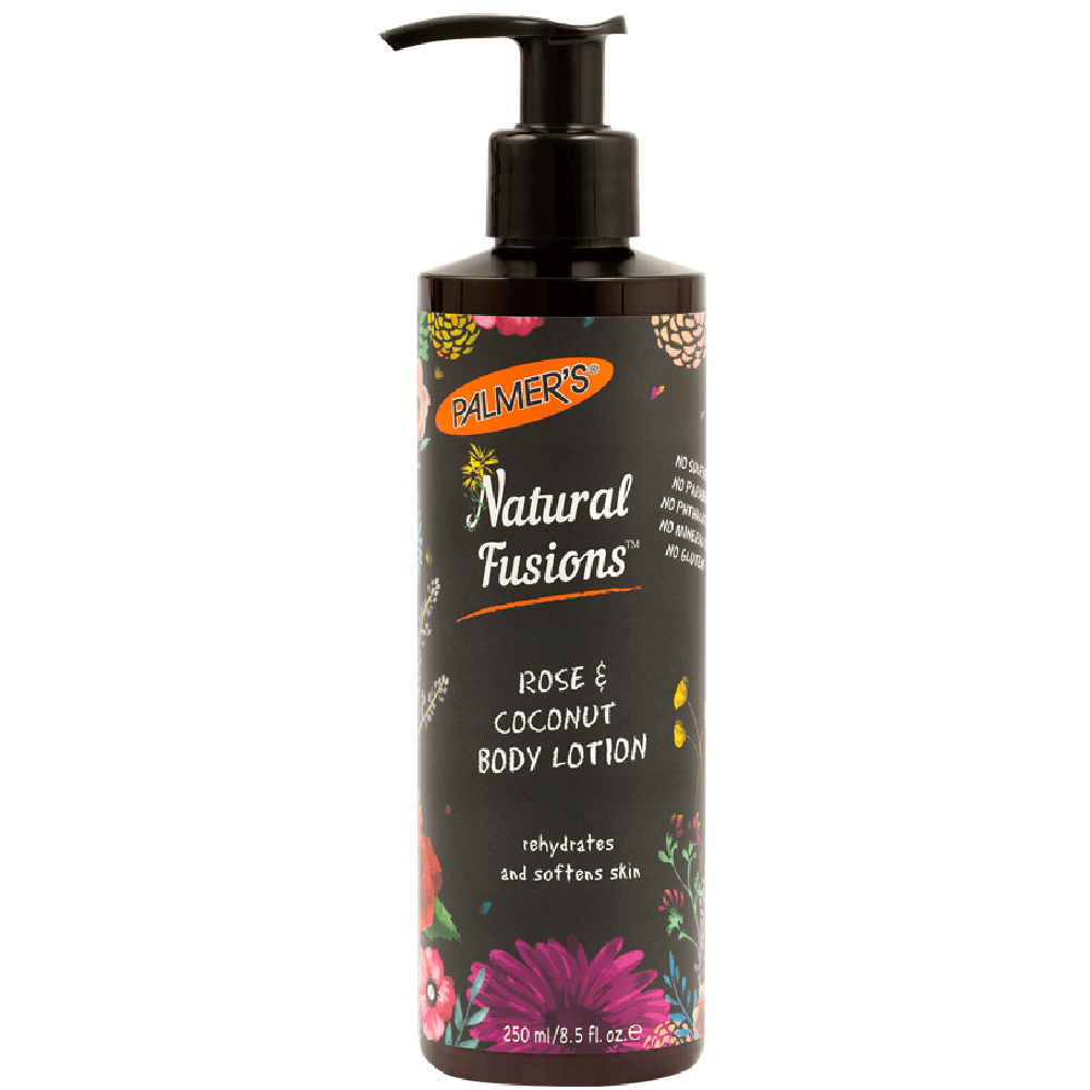 Palmer's Natural Fusion Rose and Coconut Oil Body Lotion