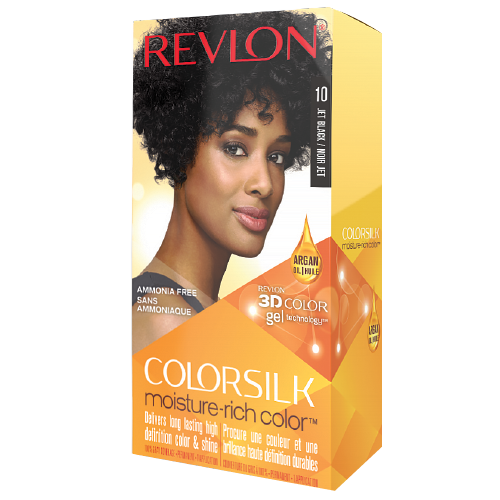 Revlon Colorsilk Moisture-Rich Color 10 Jet Black