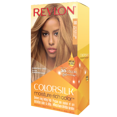 Revlon Colorsilk Moisture-Rich 100 Light Golden Blonde