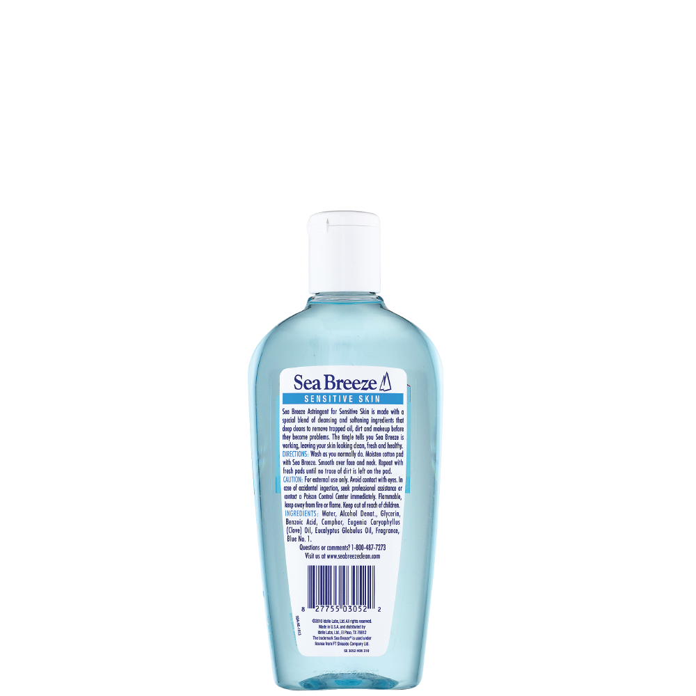 Sea Breeze Astringent Sensitive - 10 oz