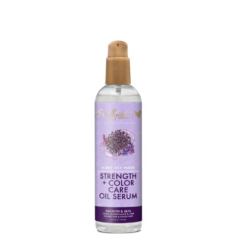 Shea Moisture Purple Rice Water Strength Color Oil Serum