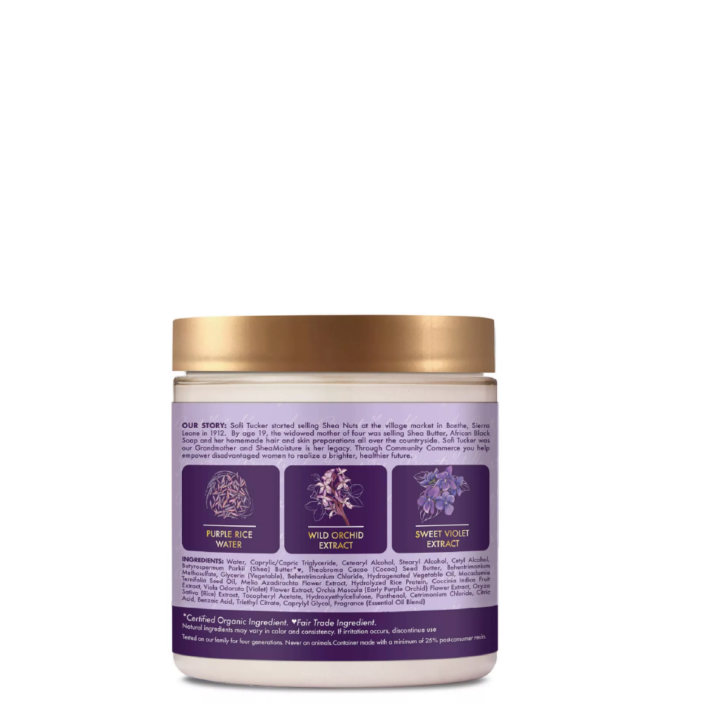 Shea Moisture Purple Rice Water Strength Color Care Masque