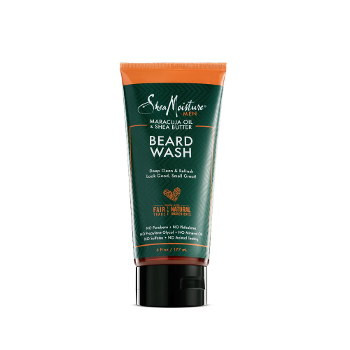Shea Moisture Men Maracuja Beard Wash