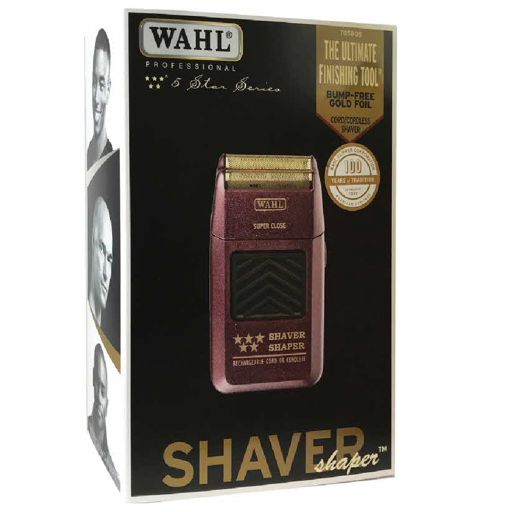 WAHL 5 Star Super Close Shaver Bump Free With Close Foil