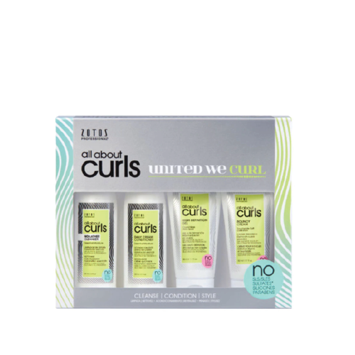 All About Curls Starter Kit 4pcs/kit