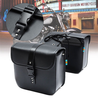 Universal Motorcycle Saddle Bags with Code Lock