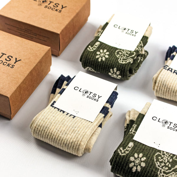 Pack de 2 calcetines sostenibles