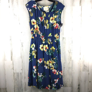 Primary Photo - BRAND: MAEVE BY ANTHROPOLOGIE STYLE: DRESS SHORT SLEEVELESS COLOR: BLUE SIZE: S OTHER INFO: FLORAL SKU: 258-25873-37661