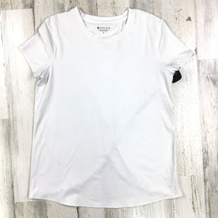 Primary Photo - BRAND: ATHLETA STYLE: ATHLETIC TOP SHORT SLEEVE COLOR: WHITE SIZE: S SKU: 258-258113-9974