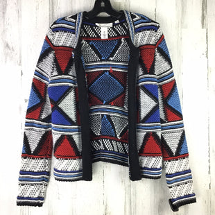 Primary Photo - BRAND: LOGG STYLE: SWEATER CARDIGAN HEAVYWEIGHT COLOR: MULTI SIZE: S OTHER INFO: RED WHITE BLUE BLACK SKU: 258-25811-12662