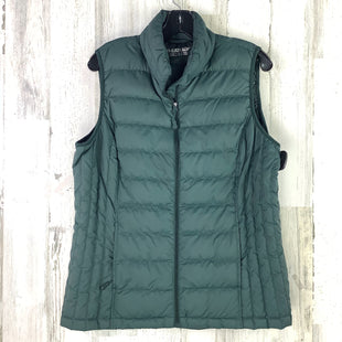 Primary Photo - BRAND:    CLOTHES MENTOR STYLE: VEST DOWN COLOR: GREEN SIZE: L OTHER INFO: HEATKEEP SKU: 258-258111-10625
