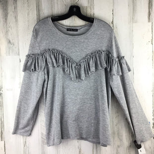 Primary Photo - BRAND: KIM & CAMI STYLE: TOP LONG SLEEVE COLOR: GREY SIZE: 1X SKU: 258-25840-16550