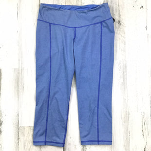 Primary Photo - BRAND: OLD NAVY STYLE: ATHLETIC CAPRIS COLOR: BLUE SIZE: S OTHER INFO: HEATHERED SKU: 258-25873-36281