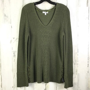 Primary Photo - BRAND: SONOMA STYLE: SWEATER LIGHTWEIGHT COLOR: OLIVE SIZE: L SKU: 258-25877-20723