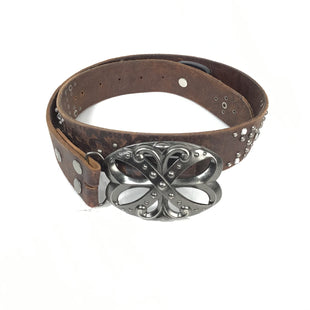 Primary Photo - BRAND: BKE STYLE: BELT COLOR: BROWN SIZE: S OTHER INFO: BOWLIKE BUCKLE W RHINESTONES SKU: 258-258111-2184