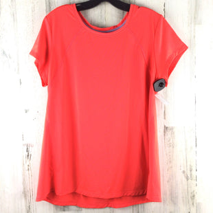 Primary Photo - BRAND: OLD NAVY STYLE: ATHLETIC TOP SHORT SLEEVE COLOR: ORANGE SIZE: XL SKU: 258-25873-38382