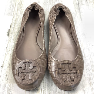 Primary Photo - BRAND: TORY BURCH STYLE: SHOES FLATS COLOR: TAUPE SIZE: 8.5 SKU: 258-258113-12399
